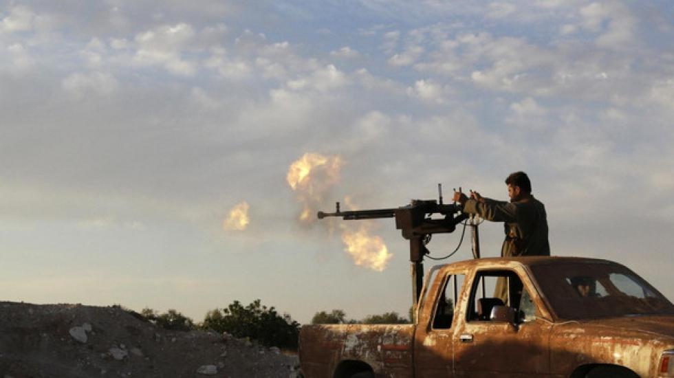 """صورة ستة فصائل تتوحد تحت مسمى """"جيش حمص"""""""