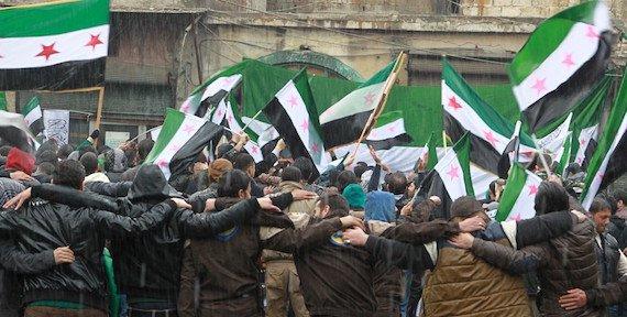 صورة لوبي للمعارضة السورية في واشنطن