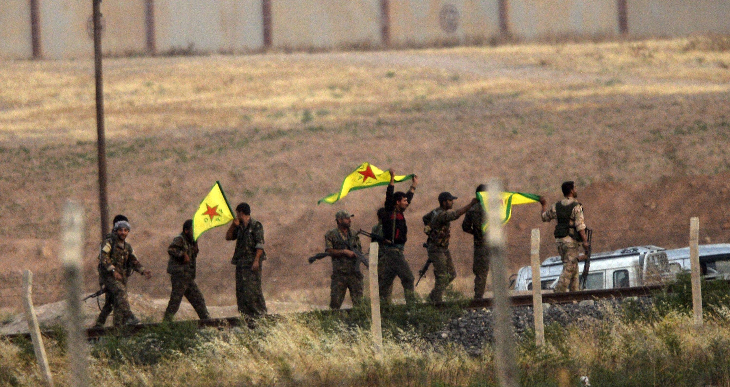 صورة بعد داعش..هل تخشى المليشيات الكردية بسوريا خيانة الغرب؟