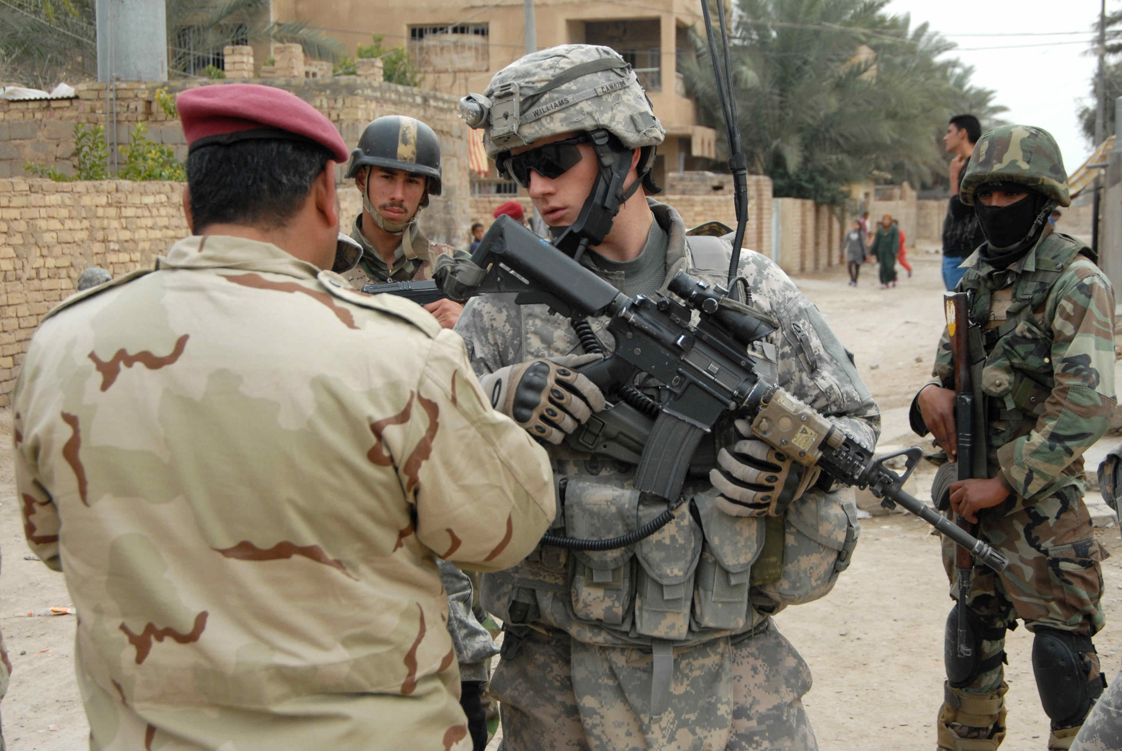 صورة التحالف: باقون في العراق رغم تحرير 97% من أراضيه