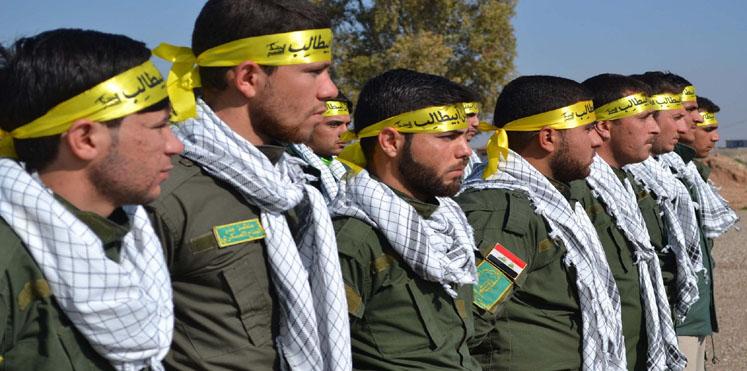 صورة الحشد الشعبي: العراق فتح مجاله الجوي أمام دعم إيران لدمشق