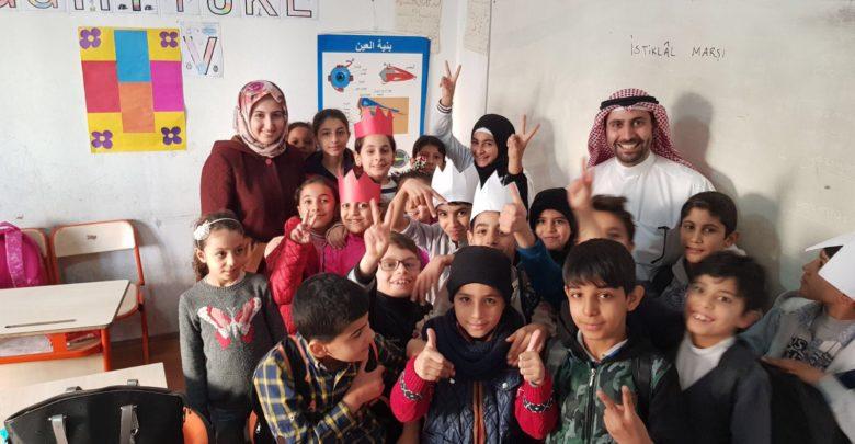 صورة جمعية كويتية تكفل أكثر من 1500 طالب سوري في تركيا