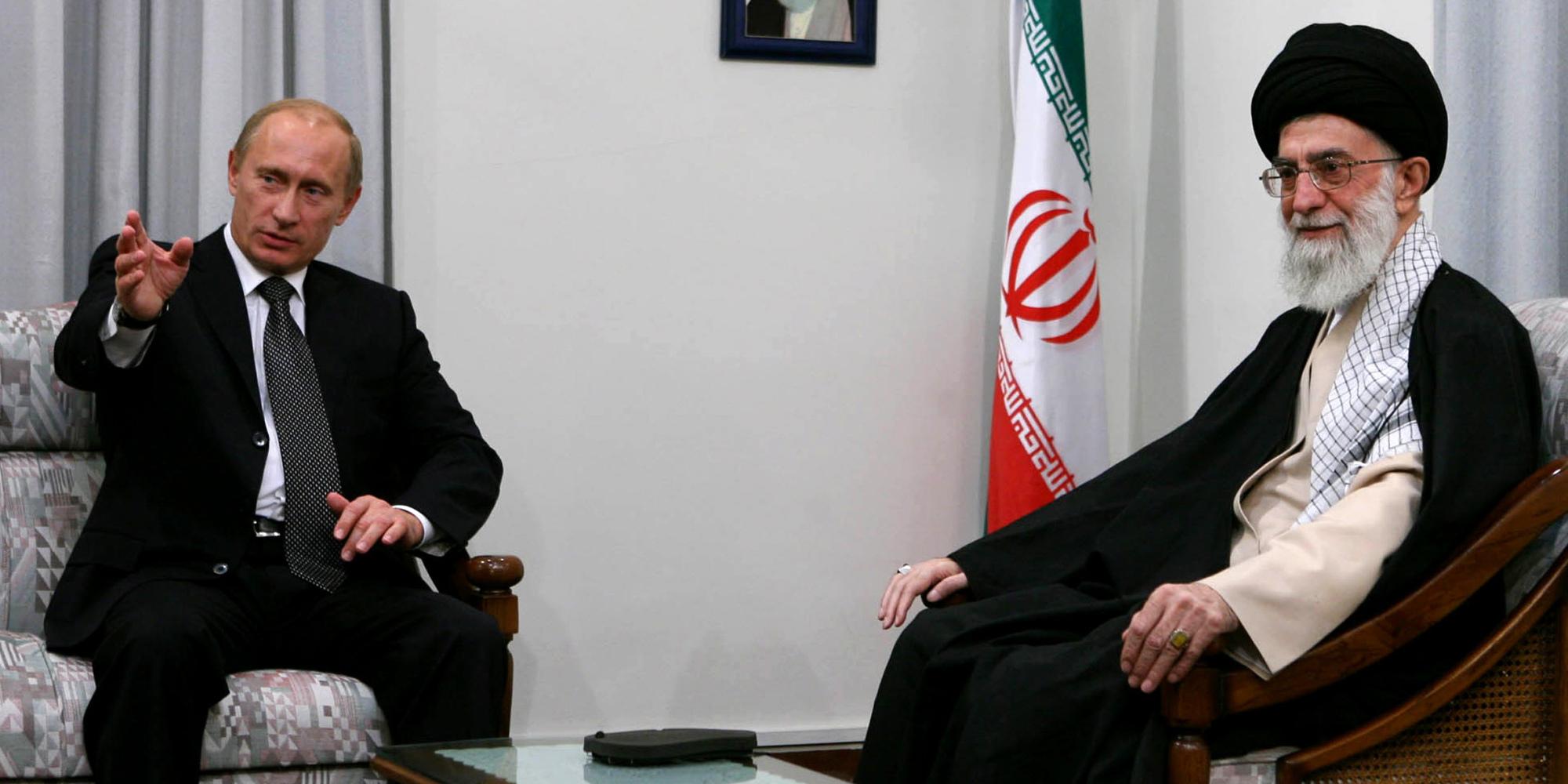 """صورة بوتين: التعاون مع إيران بسوريا """"مثمر جدا"""""""