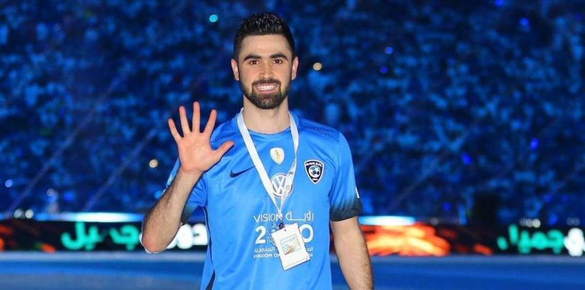 """صورة السوري """"خربين"""" من دكة البدلاء لأفضل لاعب بآسيا"""