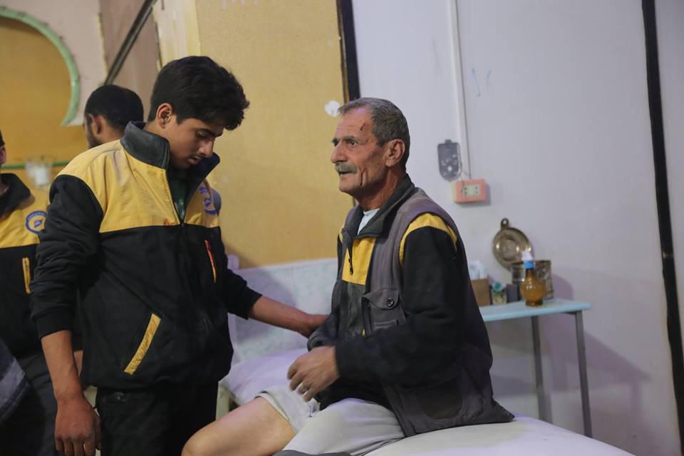صورة منظمة: 180 غارة على الغوطة و45 ضحية