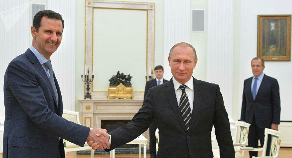 """صورة السلام الروسي بسوريا """"ذروة السخرية"""""""