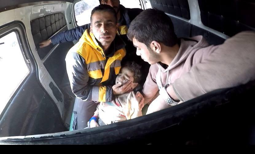 صورة حميميم تقترح تهدئة مؤقتة في الغوطة الشرقية