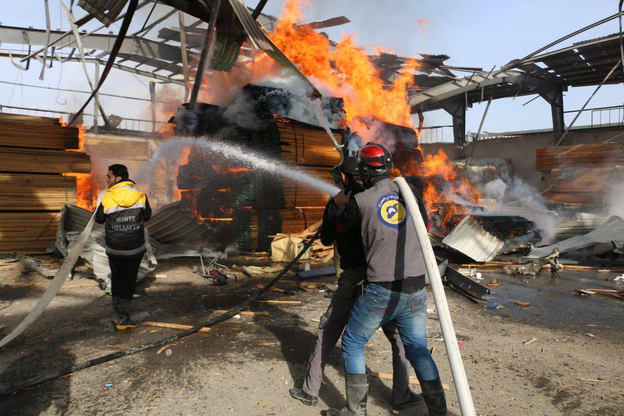 صورة لوموند: الغوطة الشرقية من سيئ لأسوأ