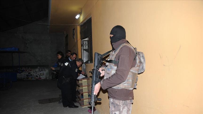 """صورة توقيف 11 سوريا بعملية ضد """"داعش"""" جنوبي تركيا"""