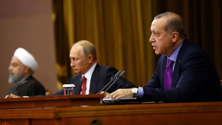 صورة أردوغان: أولوياتنا إبعاد الإرهابيين من التسوية السياسية بسوريا