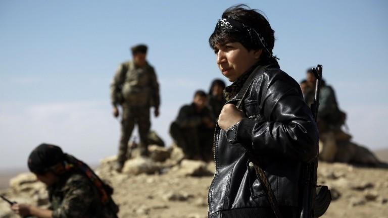 صورة الدفاع الأمريكية: ندرس وقف تسليح أكراد سوريا