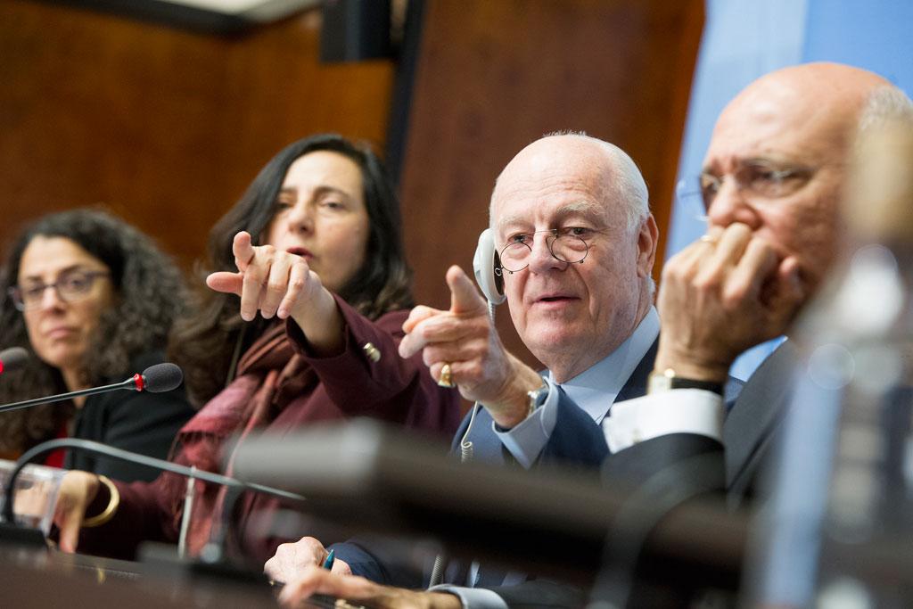 صورة نظام الأسد يرفض الجلوس مع المعارضة