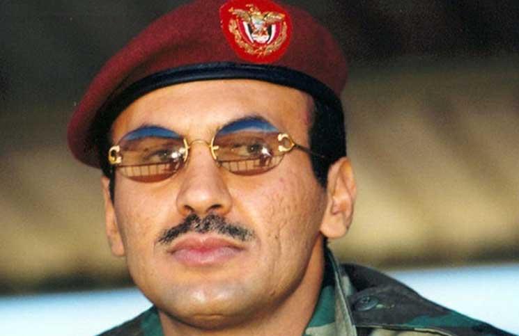 """صورة نجل صالح يدعو لـ""""الثأر"""" وقائد الحرس الثوري يشتم النظام السعودي"""