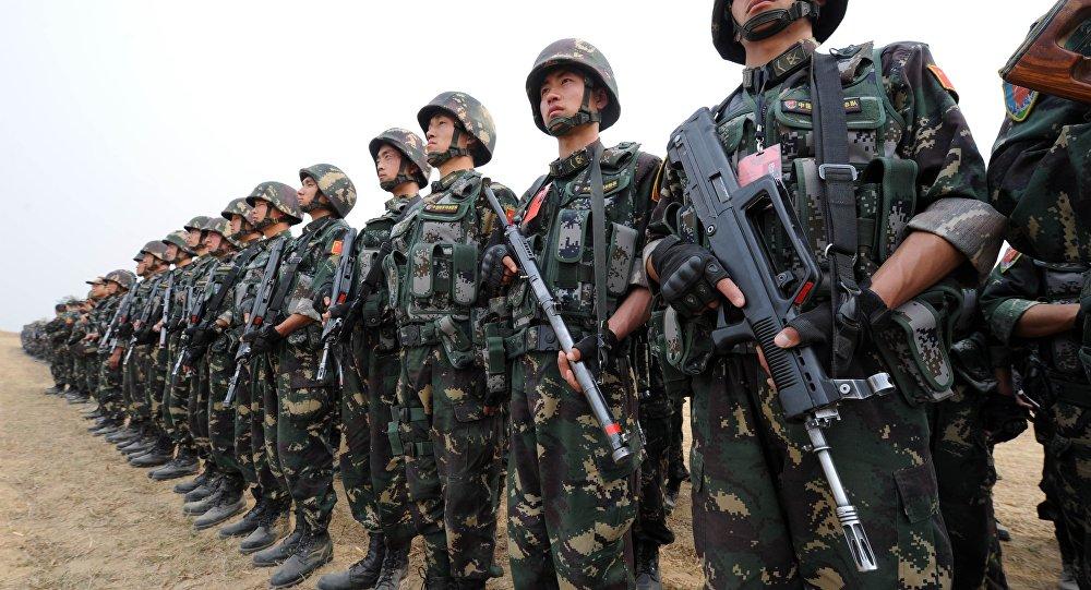 """صورة سانا: وصول قوات صينية """"عار عن الصحة"""""""