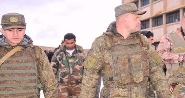 صورة التايمز: بوتين يقاتل بجيش من المرتزقة في سوريا