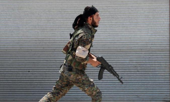 صورة بدعم أمريكي روسي..الأكراد يسيطرون على ريف دير الزور الشرقي