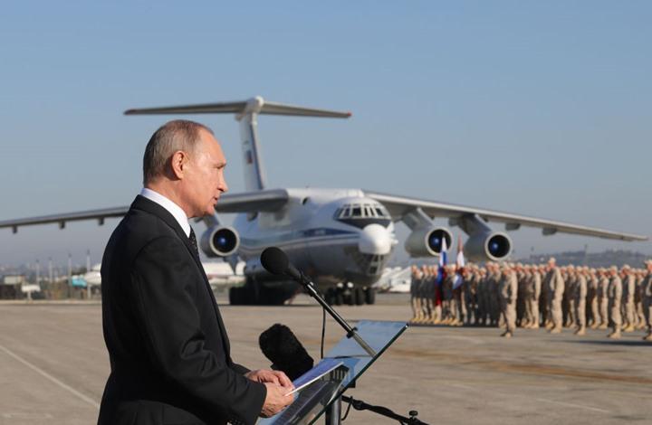 صورة هل كان يخشى بوتين من استهداف طائرته بسوريا؟