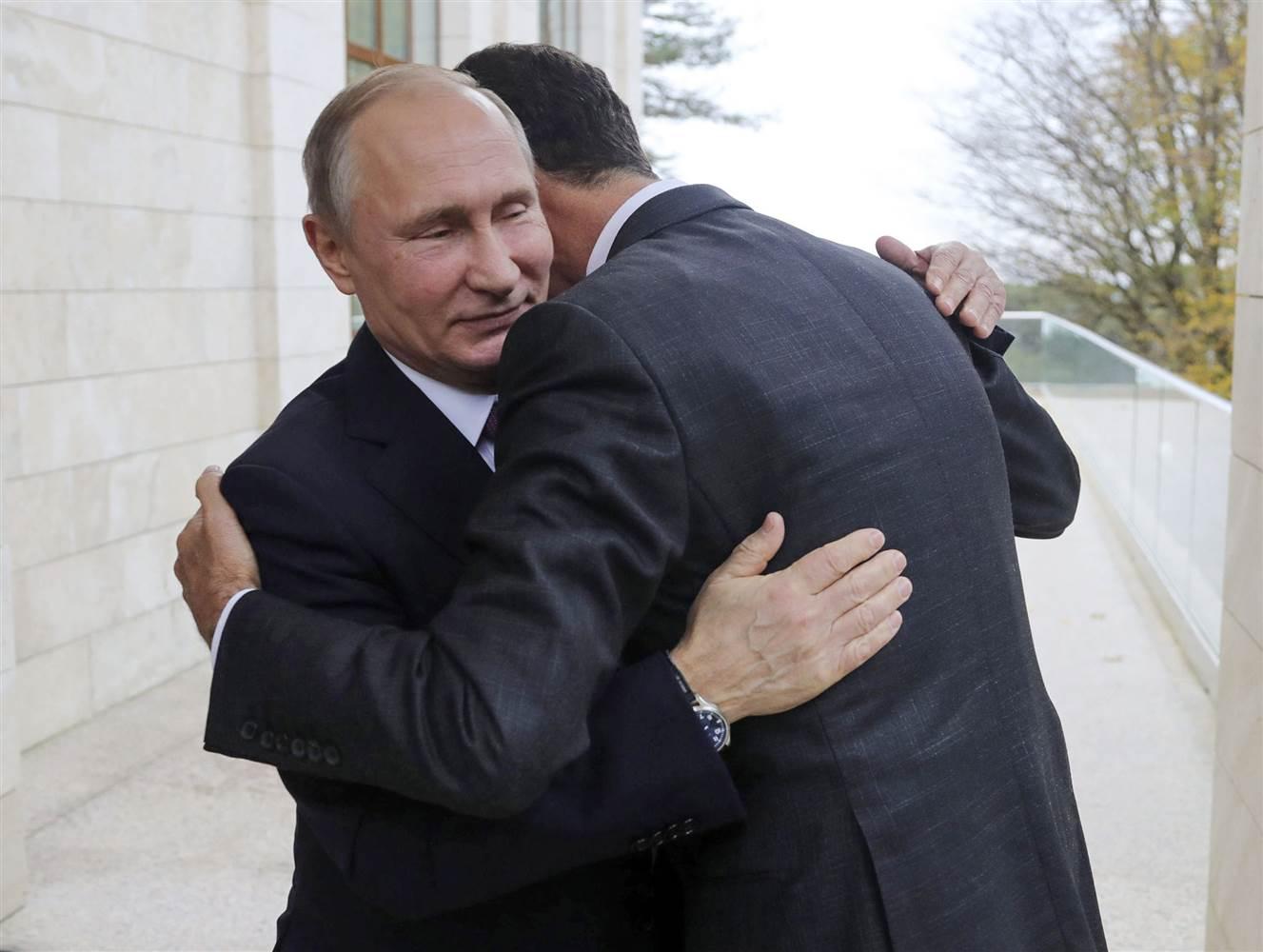 صورة الأسد بين الإذلال الروسي المتعمد والغزل