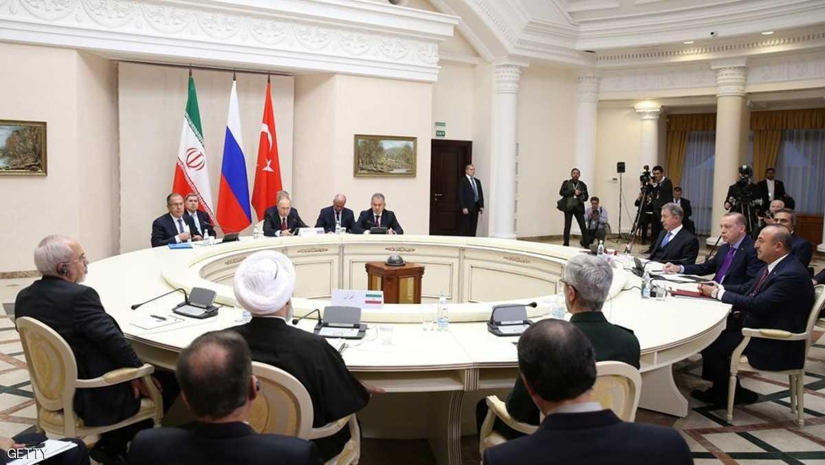 """صورة تركيا تسلم روسيا قائمة باسماء """"سوتشي"""""""