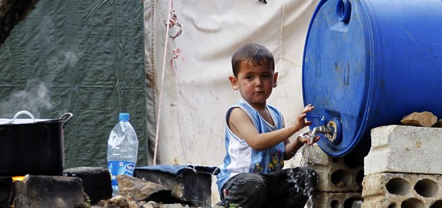 صورة هيئة التفاوض تطالب بدعم اللاجئين السوريين بعرسال