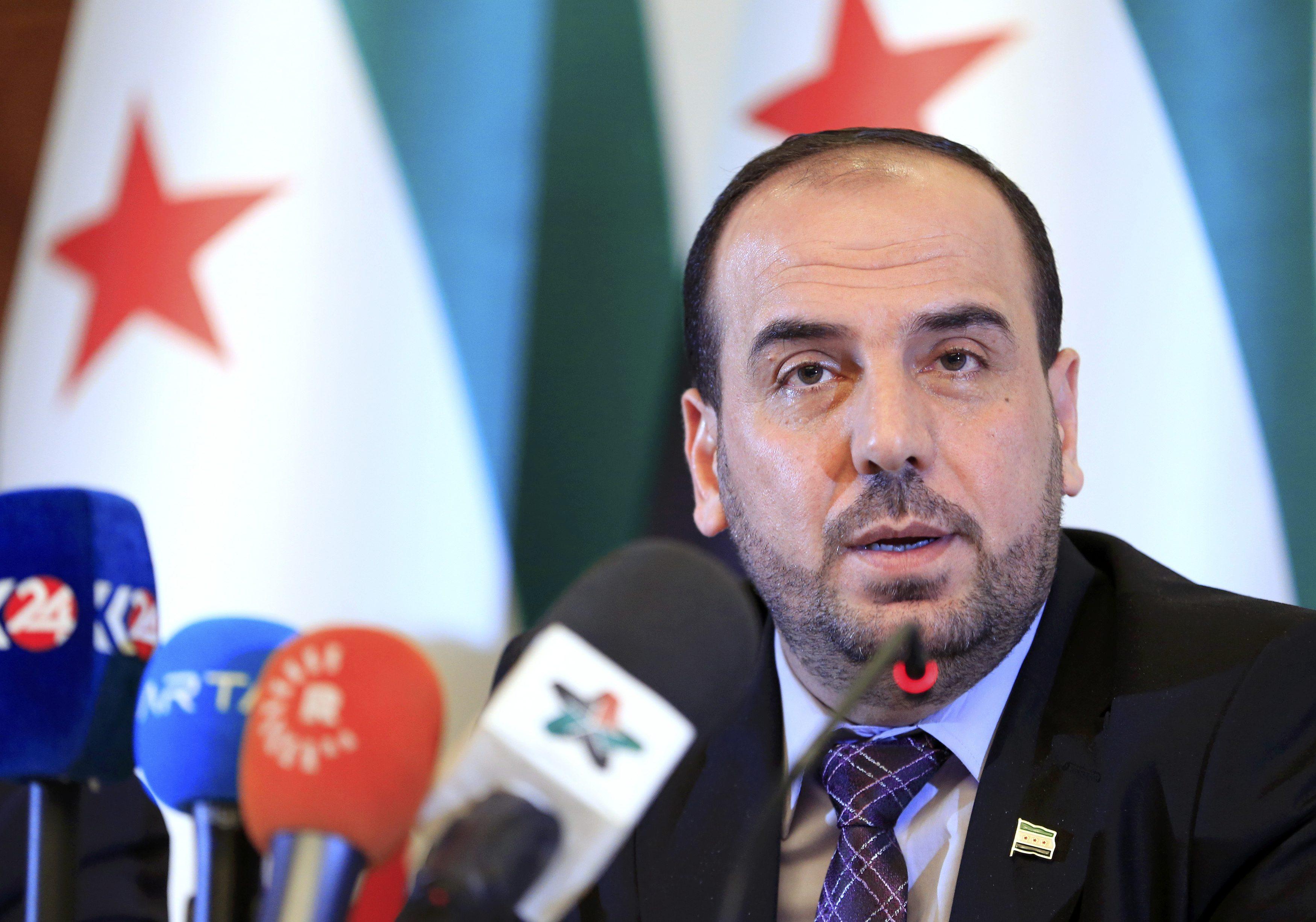 صورة كيف ردت المعارضة على انسحاب وفد الأسد؟