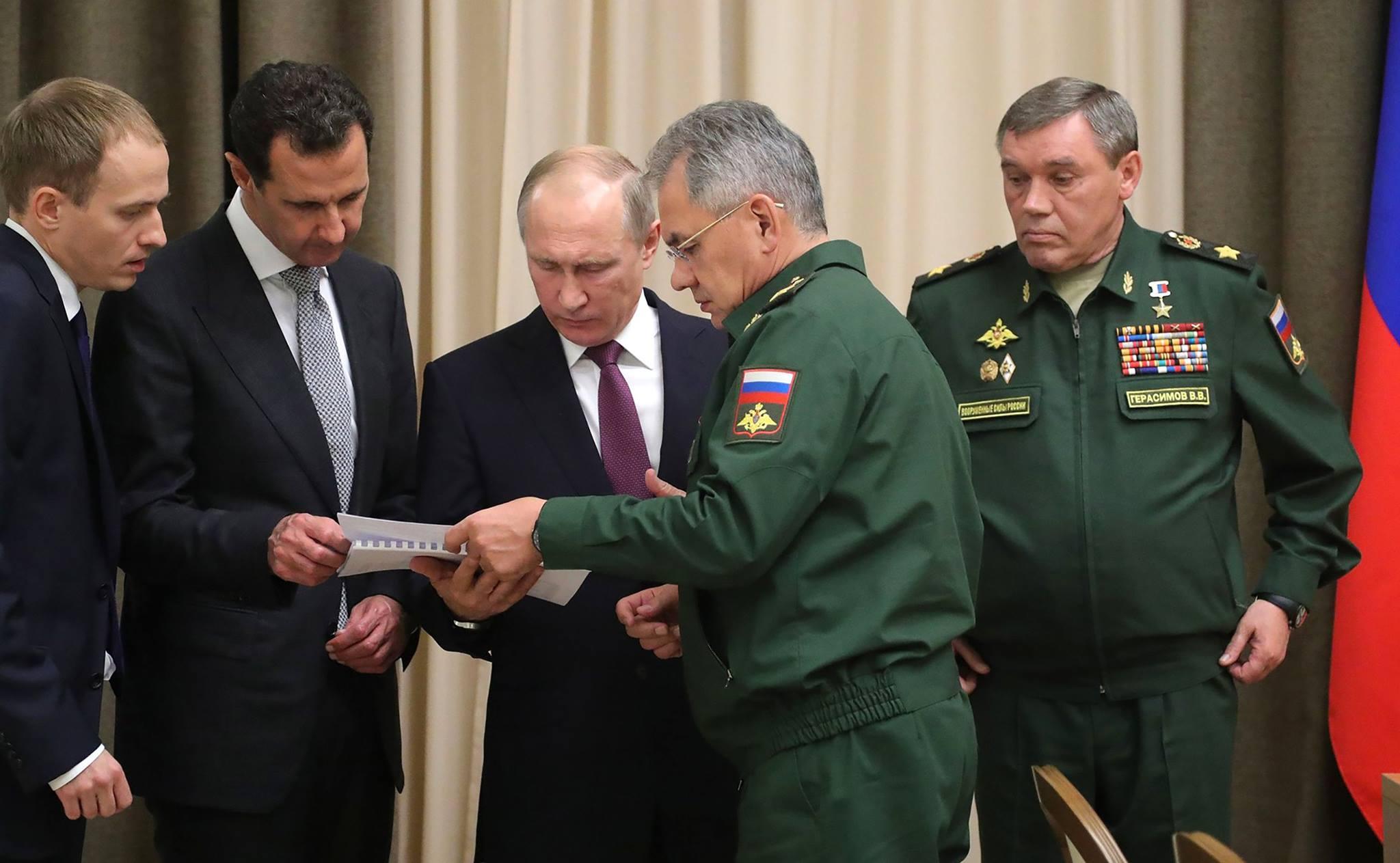 صورة كيف يستغل بوتين سوريا لصالح الانتخابات؟