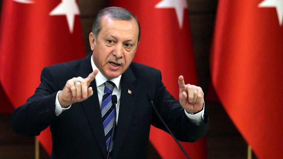 صورة أردوغان : إسرائيل دولة احتلال وإرهاب