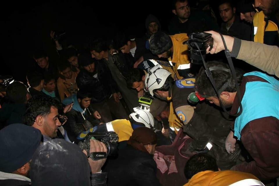 صورة إدلب تحت النار..ضحايا وتهجير