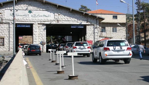 صورة معبر جوسية..تطبيع لبناني مع الأسد؟