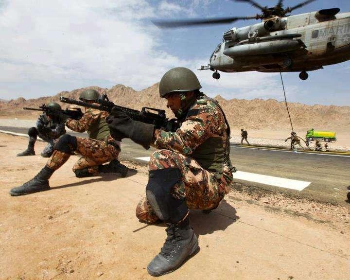 صورة الجيش الأردني: تحرير أردني مخطوف بجنوب سوريا