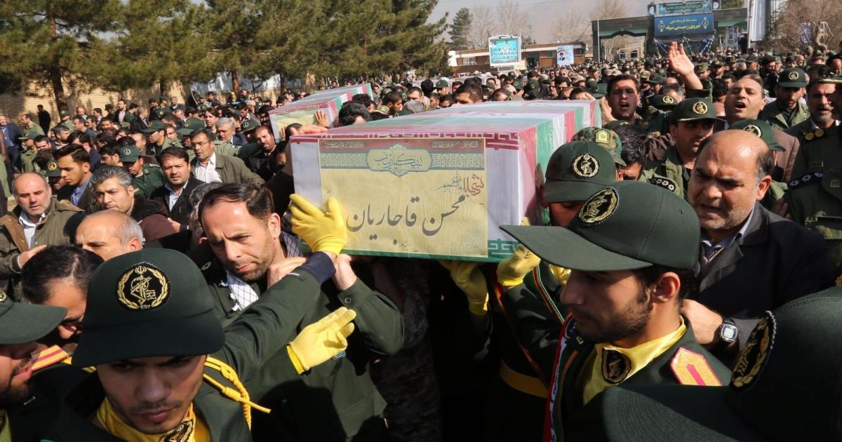صورة مقتل 7 من الحرس الثوري الإيراني في سوريا
