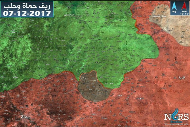 صورة تنظيم الدولة يهدد حدود إدلب