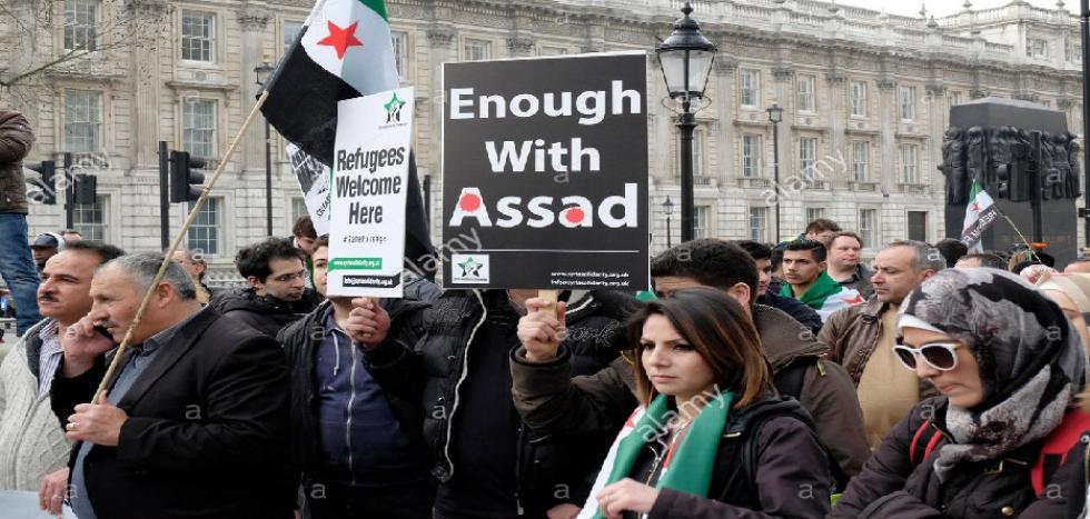 صورة دراسة أمريكية..انقاذ سوريا يكمن بإزاحة الأسد