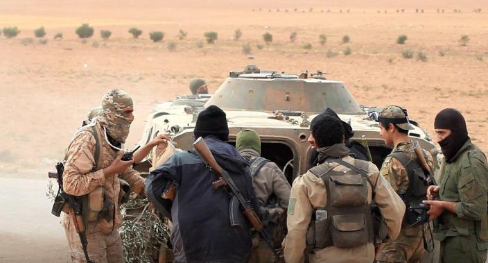 """صورة 30 قتيل من """"تحرير الشام"""" بكمين لـ""""تنظيم الدولة"""""""