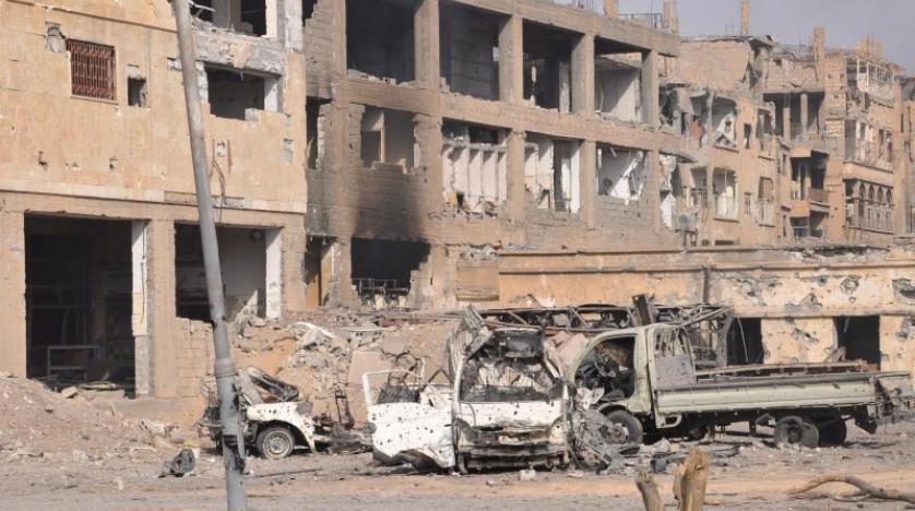 """صورة قضاء 411 مدنيا خلال استعادة جزء صغير من """"البوكمال"""""""