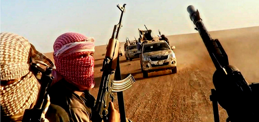 صورة التحالف: مقتل 20 من تنظيم الدولة بسوريا