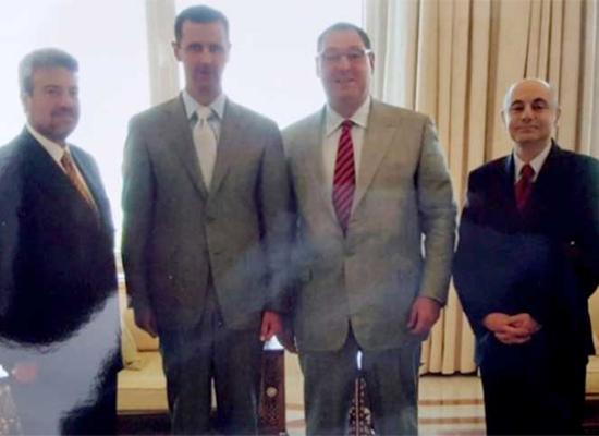 صورة عميل من الموساد التقى الأسد بدمشق