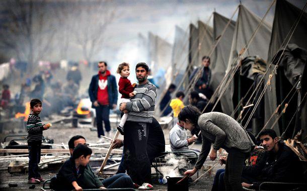 صورة 18600 لاجئ فلسطيني تم تهجيرهم من سوريا