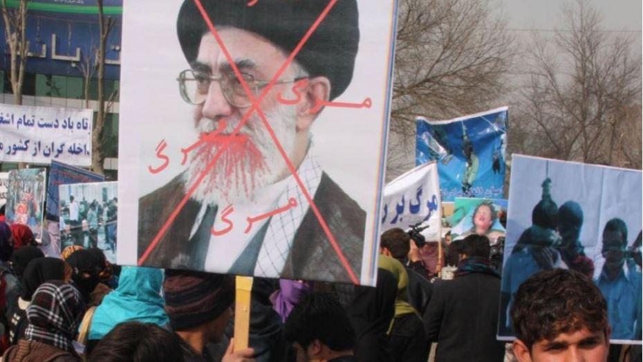 صورة واشنطن تؤيد مطالب المتظاهرين في إيران