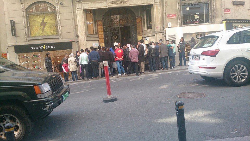 صورة قنصلية اسطنبول تتسبب بإلغاء إقامات السوريين