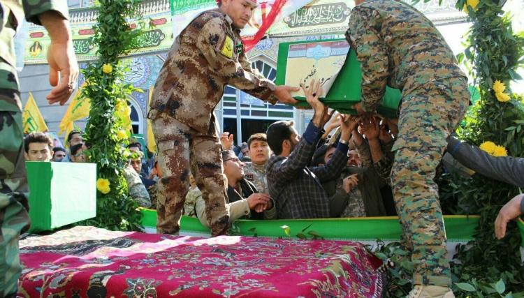 """صورة أربعة قتلى لـ""""لواء فاطميون"""" في سوريا"""