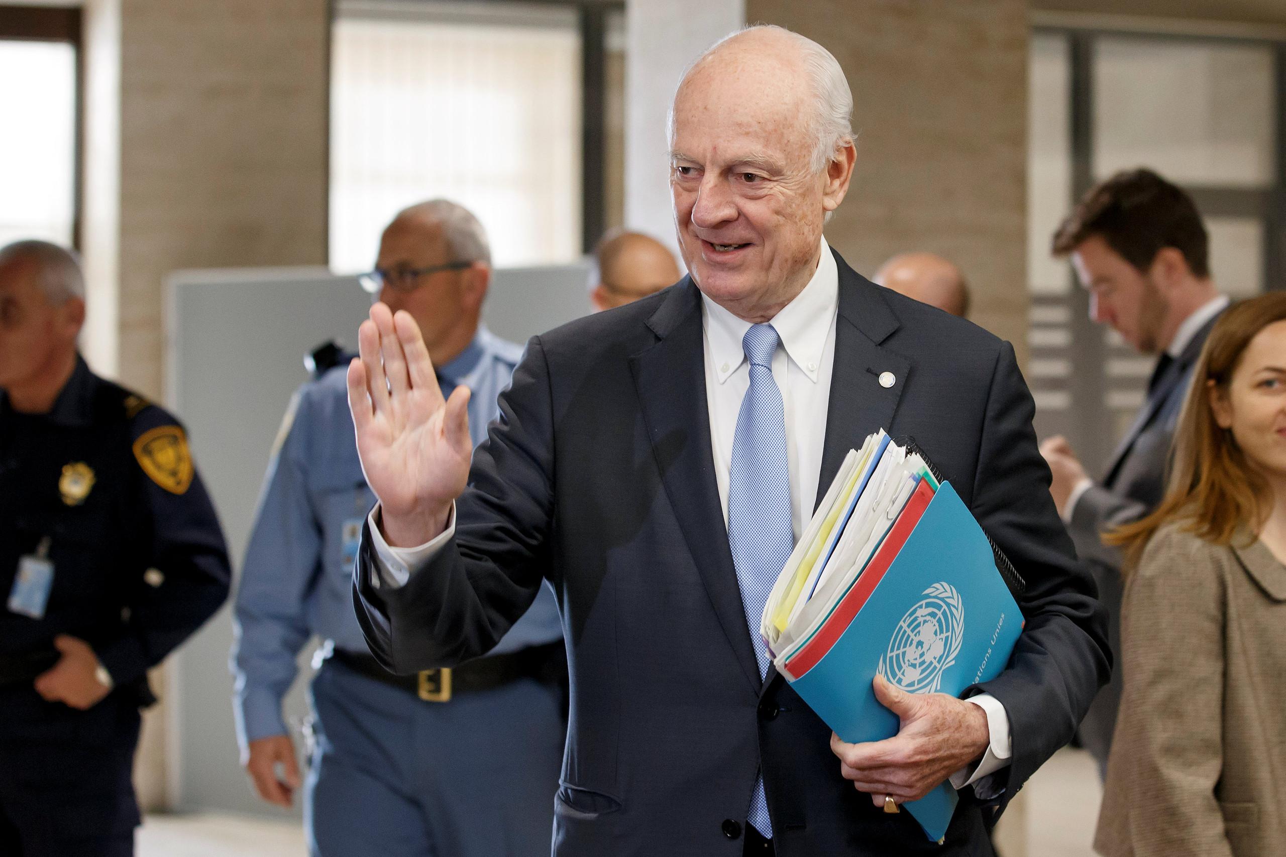 صورة جنيف 8 يطوي جولة جديدة من المفاوضات