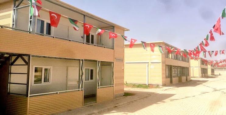 صورة مشروع تركي سوري لبناء ضاحية سكنية شمال حلب