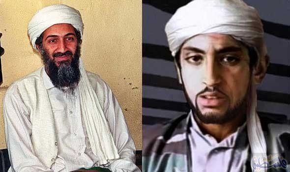 """صورة حمزة بن لادن يعلن مقتل نجله """"أسامة"""""""