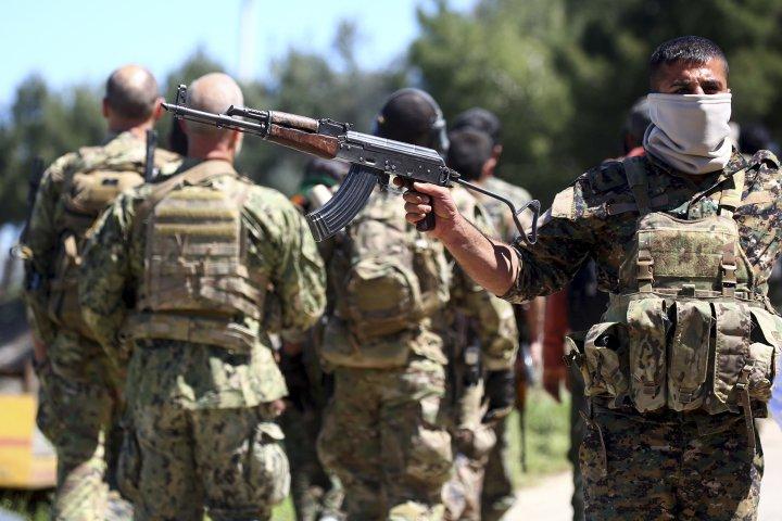 صورة البنتاغون: سنسحب الأسلحة التي تهدد تركيا من الأكراد