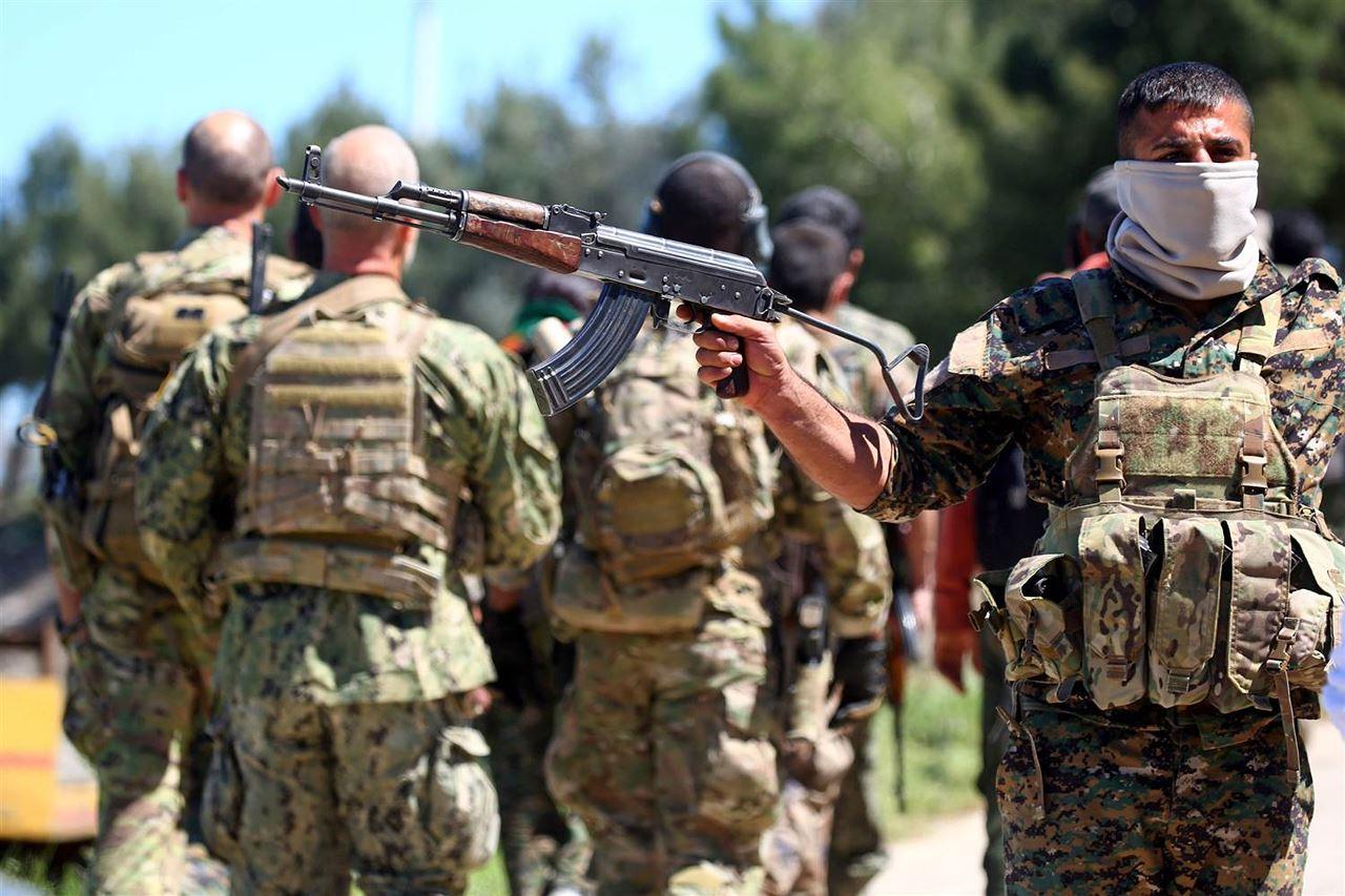صورة واشنطن تؤسس جيشيا جديدا من الأكراد