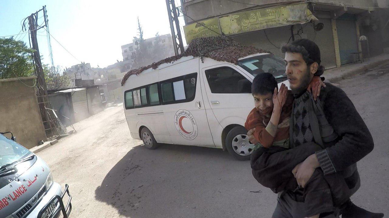 صورة مصدر: الأسد يتعمد تدمير المرافق الطبية