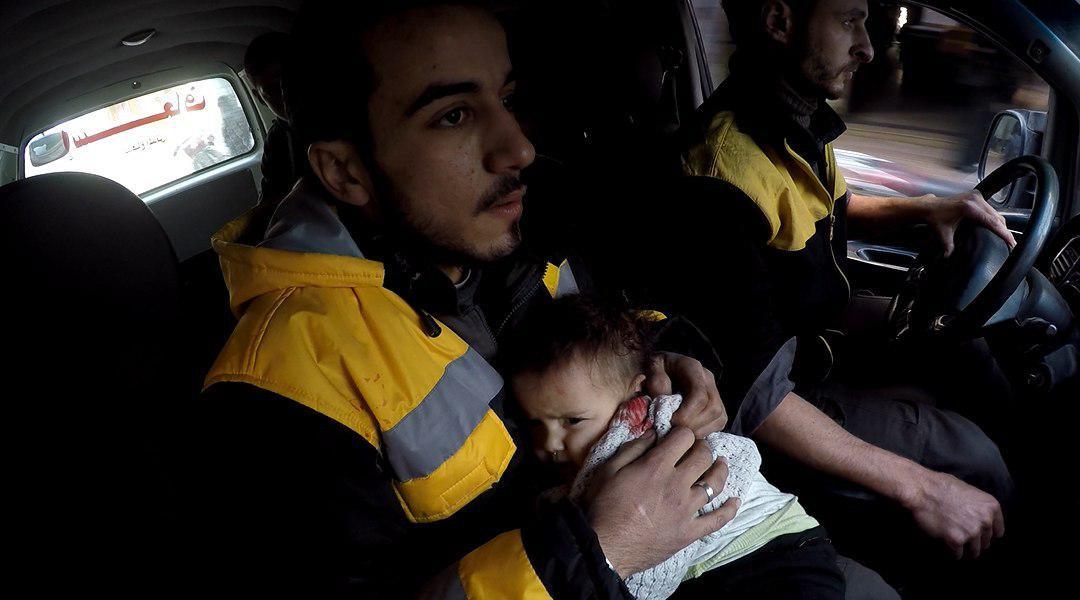 صورة 600 طفل بغوطة دمشق بحاجة ماسة لإجلاء فوري