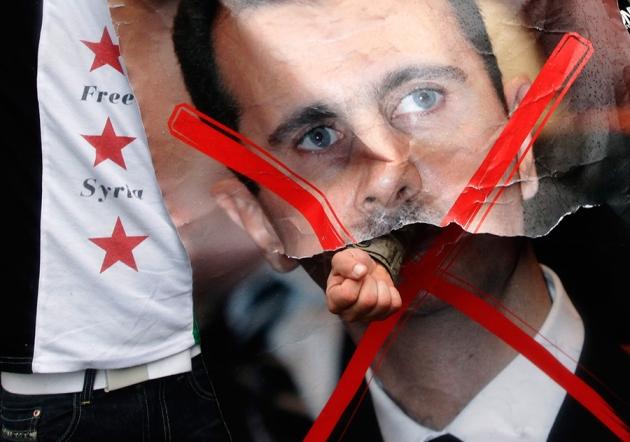 صورة إعمار سوريا يتوقف على إزالة الأسد وأنقاضه