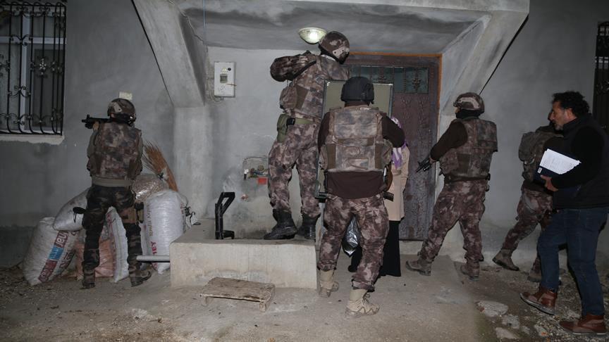 صورة الأمن التركي يوقف 12 مشتبها بالانتماء لداعش